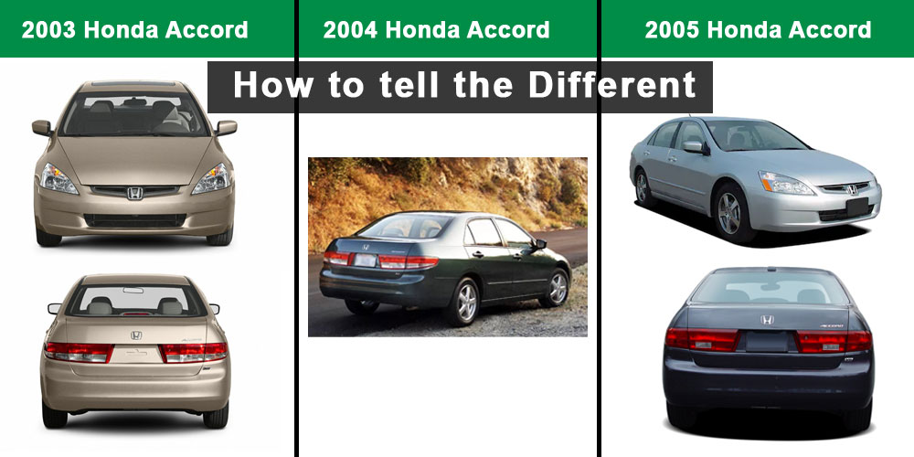 How-to-tell-the-different-between-Honda-Accord-2003,-2004,-2005