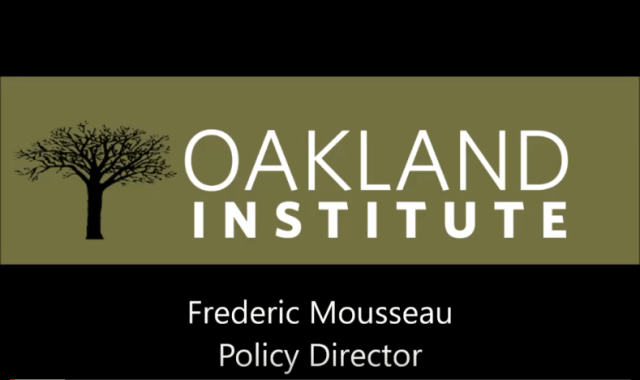 Frederic Mousseau – on the Land Reform in Ukraine
