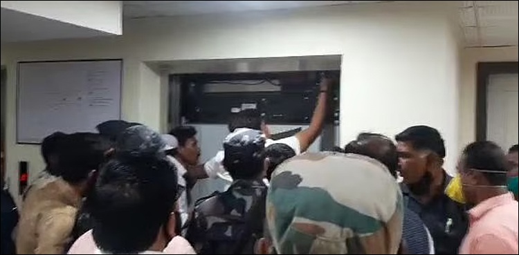 Hospital elevator suddenly collapsed, former chief minister was also inside