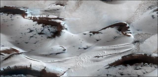 مریخ سیارے کی ناقابلِ یقین تصاویر سامنے آگئیں 9
