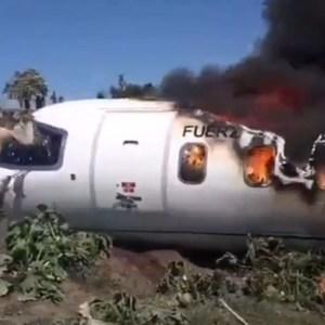 امرکی طیارہ  حادثے  کی  ویڈیو  سامنے آگئئ