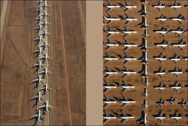 اربوں ڈالر کے سیکڑوں طیارے کھڑے کھڑے ناکارہ ہونے لگے (حیرت انگیز تصاویر) 2