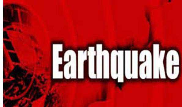 چین میں زلزلے کے جھٹکے