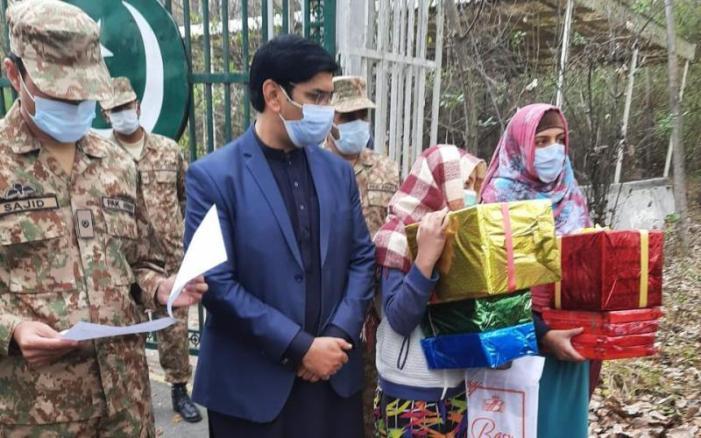 پاکستان زیر انتظام کشمیر کی دو کمسن بچیوں کو گھر واپس بھیج دیا گیا