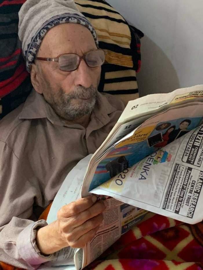 معروف صحافی وسماجی کارکن غلام نبی شیداءکی خدمات ناقابل فراموش