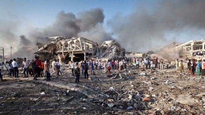 صومالیہ میں دھماکہ، 12 فوجی جوانوں کی موت