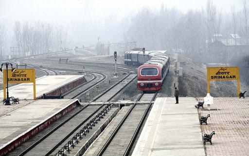 کشمیر میں ریل خدمات 11 ماہ بعد 22 فروری کو جزوی طور پر بحال ہوں گی