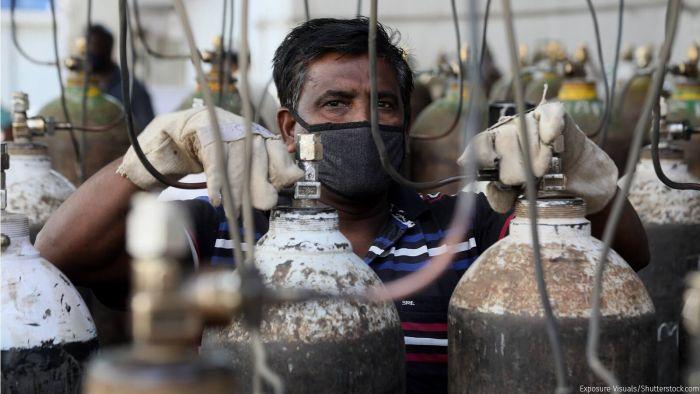 کرناٹک میں آکسیجن کی قلت کے باعث 24 افراد کی موت