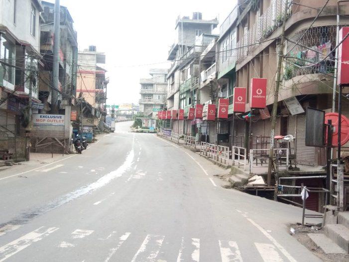 منی پور کے سات اضلاع میں کرفیو