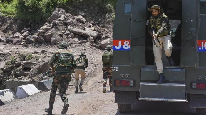 سری نگر میں مسلح جھڑپ، ایک جنگجو ہلاک