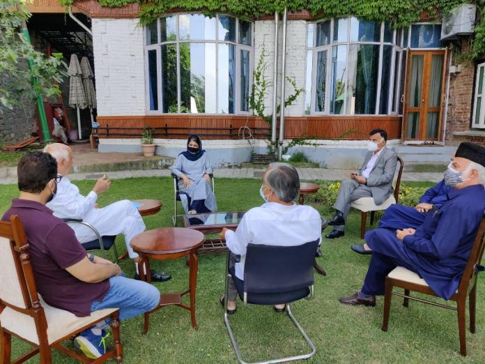 پیپلز الائنس فار گپکار ڈیکلریشن کا وزیر اعظم کی میٹنگ میں شرکت کرنے کا اعلان