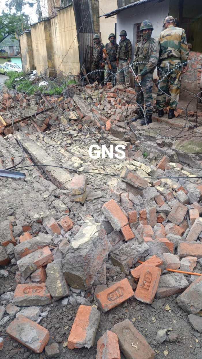راجوری میں فوج کے سگنل رجمنٹ کی دیوار گرنے سے میونسپل کونسل ملازم فوت