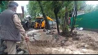 گاندربل میں بادل پھٹنے سے سیلابی صورتحال