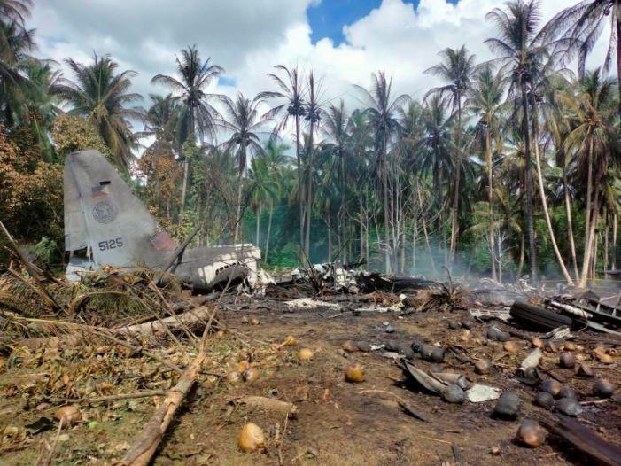 فلپائن میں طیارہ حادثہ میں 45افراد ہلاک