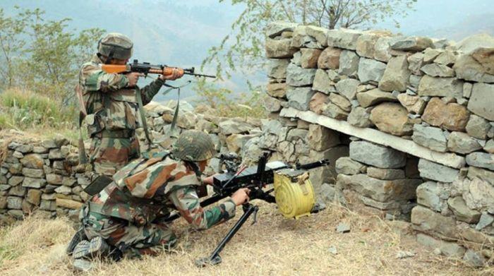 15واں دن :راجوری ۔پونچھ میں مقام ِ جھڑپ پر دوبارہ فائرنگ