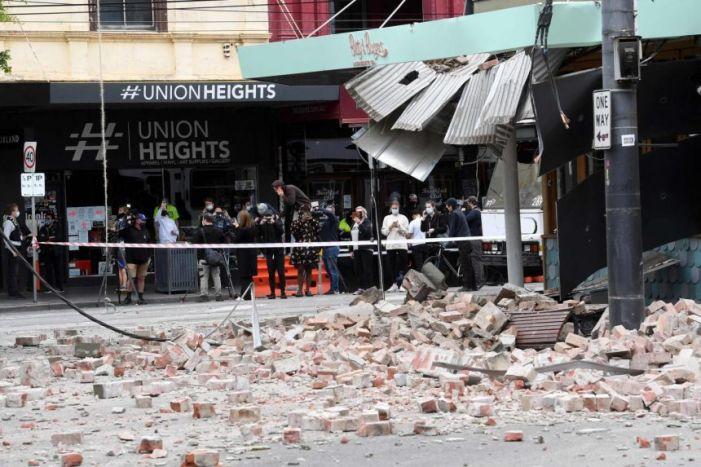 آسٹریلیا میں تاریخ کا خوفناک زلزلہ ، کئی عمارتیں زمین بوس