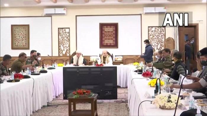 لائیو اپ ڈیٹ :امیت شاہ کی صدارت میں سیکیورٹی جائزہ میٹنگ