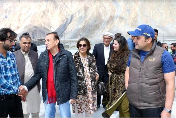 Mir Ghanzafar Ali Khan Passu Gojal Hunza