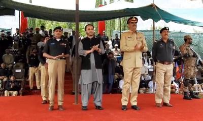 Hafiz Hafeez ur Rehman, CM Gilgit-Baltistan, Core Commandar FCNA and IGP Gilgit-Baltistan