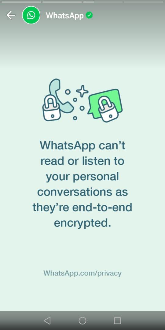 واٹس ایپ کا صارفین سے رابطے کے لیے اہم اعلان 3