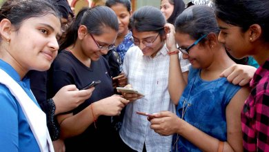 Exams Results Girls (IANS)