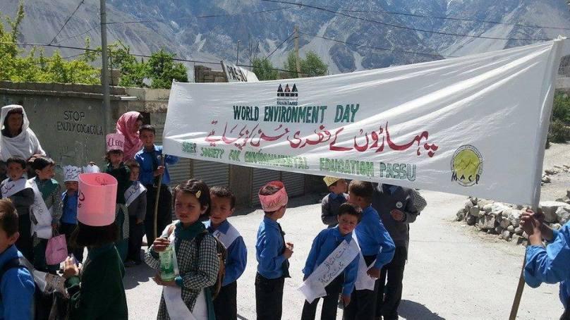 ڈائمنڈ جوبلی سکول پھسو گوجال میں یوم ماحولیات منایا گیا