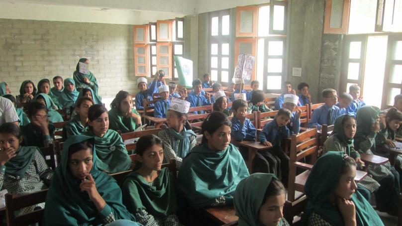ڈی جے ہائی سکول حسین آباد ہنزہ میں یوم ماحولیات پرتقریب کا انعقاد