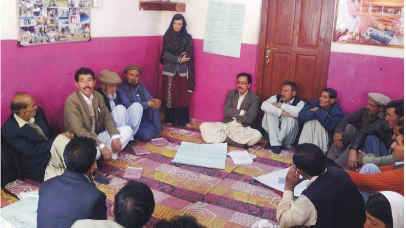 ضلع غذر، یونین کونسل پھنڈرکے ہرگاؤں میں چائلڈ رائٹس کمیٹیوں کی تشکیل