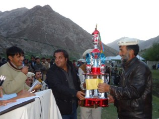 Winer team trophy