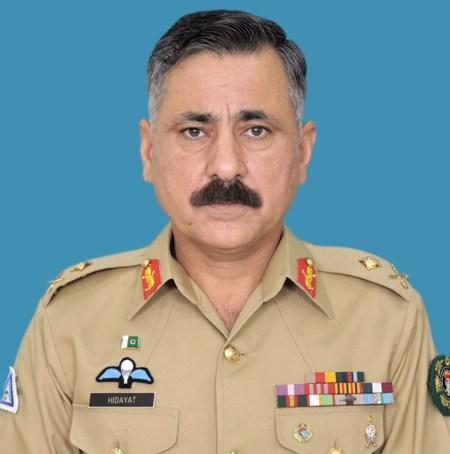 گورنر گلگت بلتستان کی کور کمانڈر پشاور کو مبارک باد