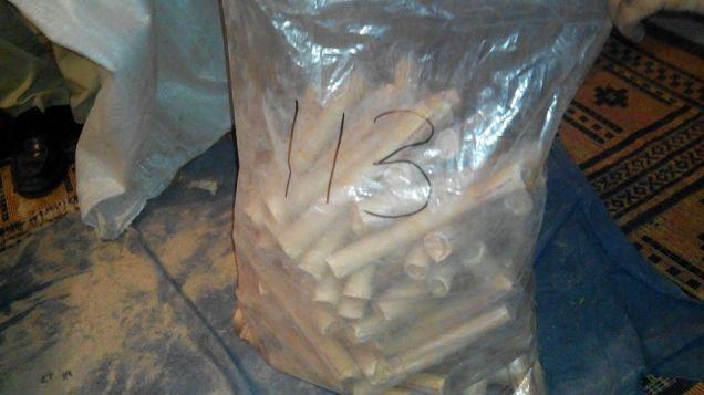 مبینہ طور پر گاڑی سے برآمد شدہ بارودی مواد
