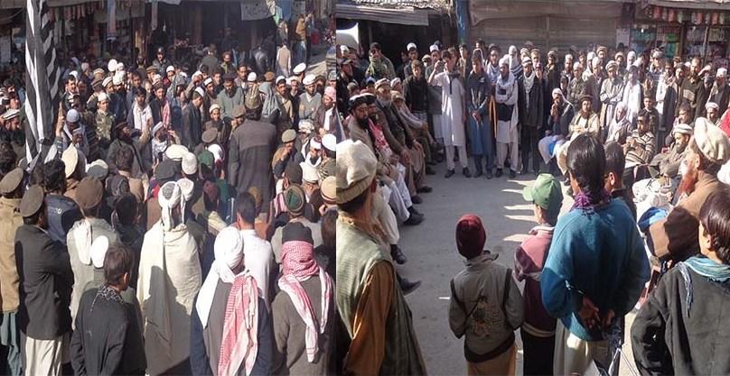 چترال، جمعیت علماء اسلام کے مرکزی راہنما ڈاکٹر خالد سومرو کے قتل کے خلاف احتجاجی مظاہرہ