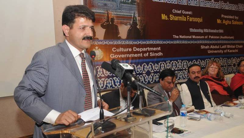 گلگت بلتستان کے معروف شاعر اور قلمکار احسان شاہ کی سندھ میں زبردست پزیرائی