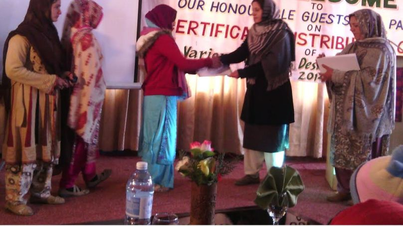 ہنزہ: گنش ڈیولپمنٹ آرگنائزیشن کے زیر اہتمام نوجوانوں کے لیےمختلف شعبوں میں تربیت کا اہتمام