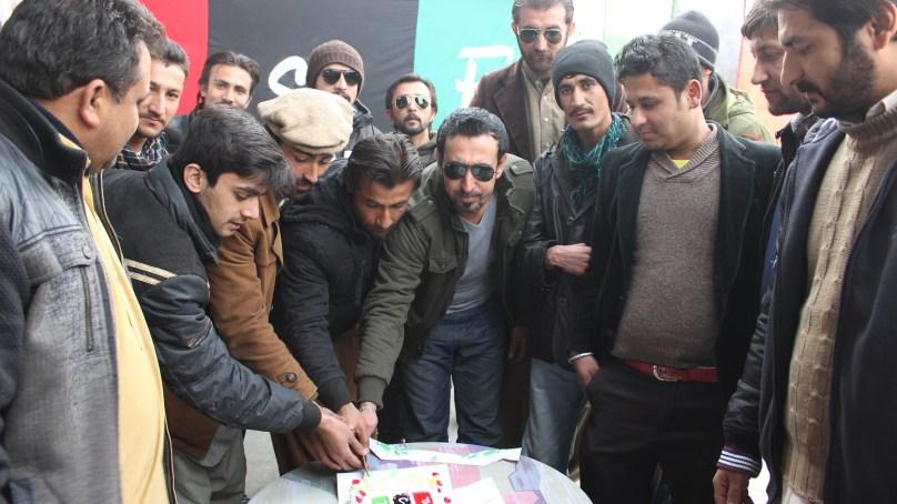 گلگت میں پاکستان پیپلز پارٹی کے بانی چئیرمین شہید زوالفیقار علی بھٹو کی سالگرہ منائی گئی
