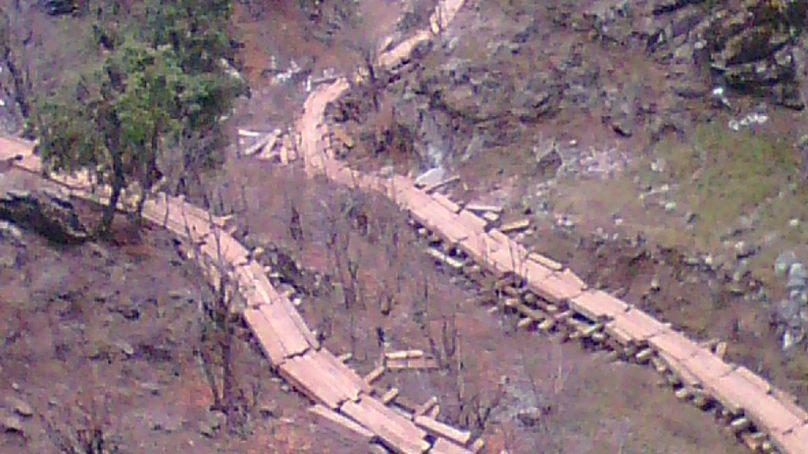 ارسون کے جنگلات میں رائیلٹی کے کروڑوں روپے غبن ہونے کا انکشاف۔رائیلٹی ہولڈرز سراپا احتجاج
