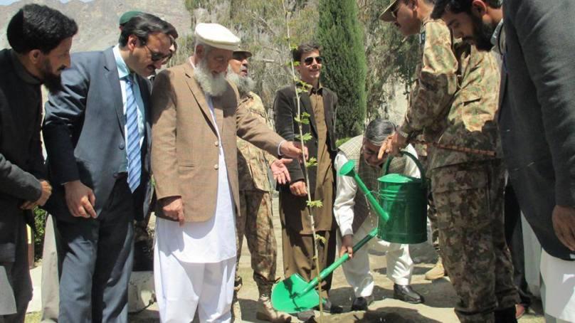 گلگت بلتستان میں امسال شجر کاری مہم شہدائے پشاور کے نام ہے