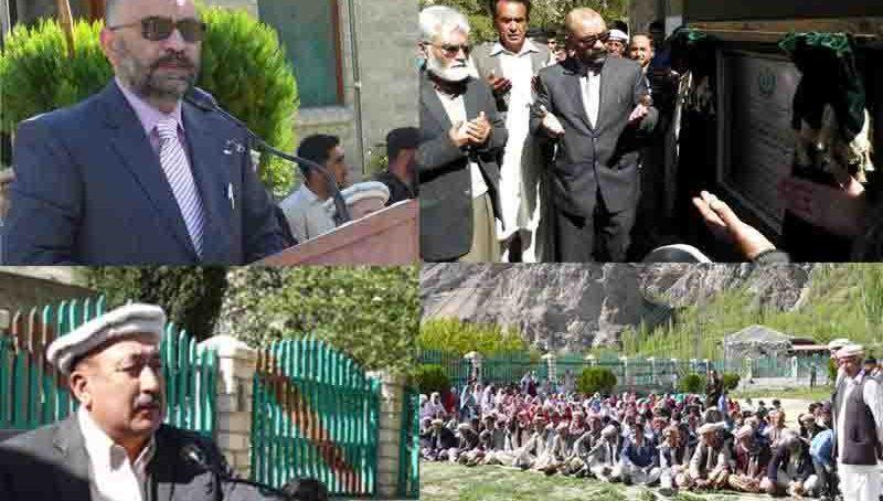 احمد آباد التت واٹر سپلائی منصوبے کا افتتاح