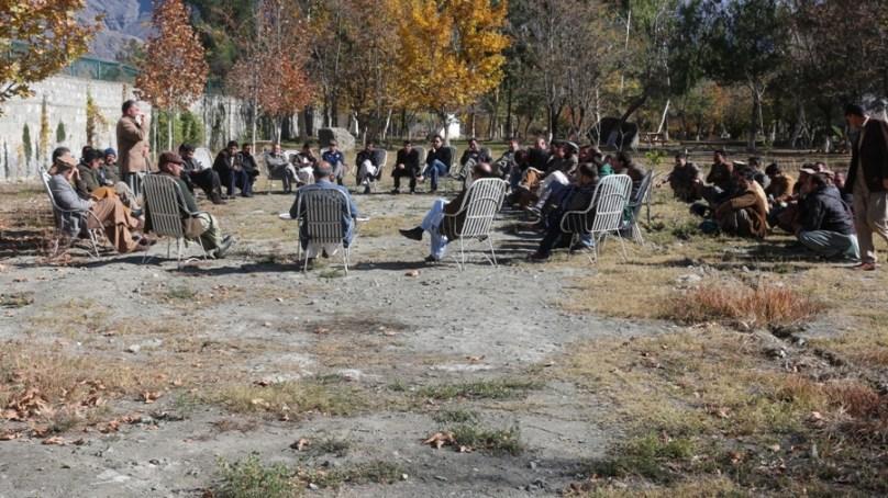 قراقرم یونیورسٹی، دو فیکلٹی ممبران کے درمیان تنازعہ ختم کرنے کے لئے کمیٹی قائم کرنے کا فیصلہ