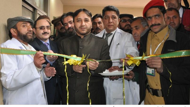 گلگت میں 50 بستروں پر مشتمل سٹی اسپتال کی افتتاحی تقریب، حکومت بلاتفریق گلگت بلتستان کے طول عرض میں ترقیاتی منصوبوں کا جال بچھادے گی ۔ وزیر اعلی گلگت بلتستان