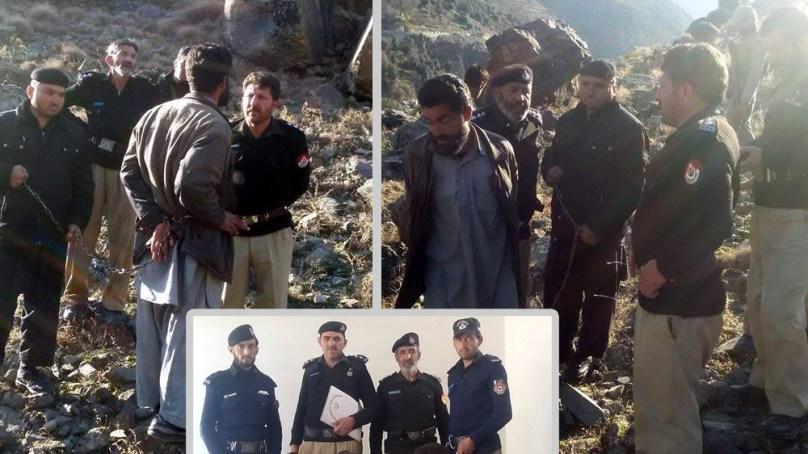 چترال پولیس کی شاندارکارکردگی، دو نوجوانوں کے بہیمانہ قتل میں ملوث ملزم گرفتار، آلہ قتل برآمد