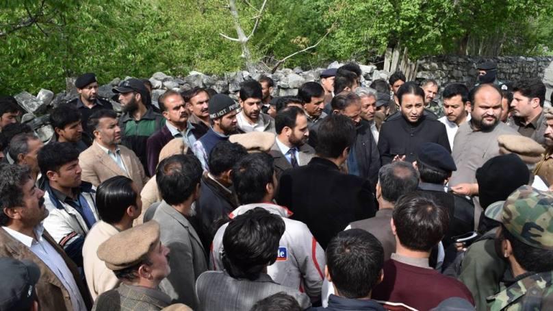 وزیر اعلی نے گلگت شہر اور مضافات میں بارش سے متاثرہ علاقوں کا دورہ کیا، مسائل حل کرنے کے لئے ہدایات جاری کردیں