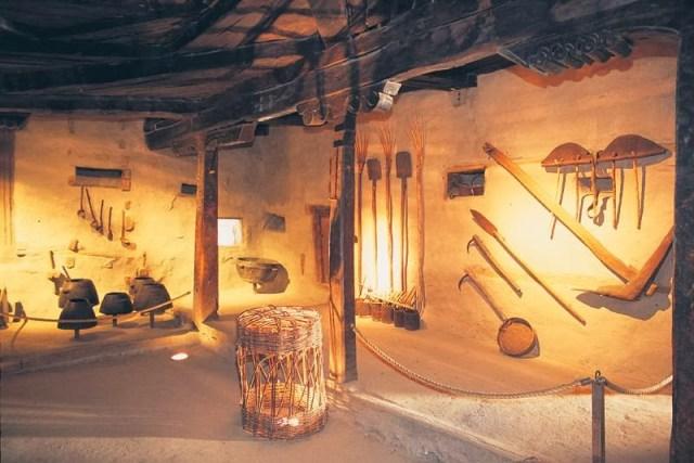 روایتی گھر کا اندرونی منظر