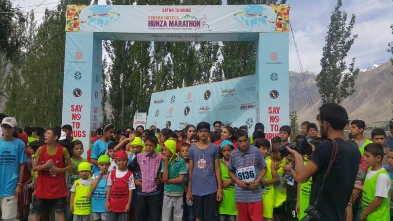 ہنزہ میں بین الاقوامی میراتھن ریس کا انعقاد، منشیات کے خلاف شعور کی بیداری کا پیغام دیا گیا