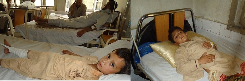 زرگراندہ چترال میں پرائیویٹ سکول کی دیوار اور گیٹ گرنے سے پانچ طلباء زخمی