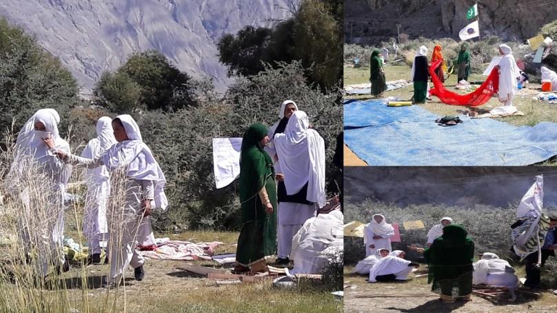 گرلز ہائر سیکنڈری سکول خپلو میںطالبات کو قدرتی آفات سے نمٹنے کی تربیت دی گئی