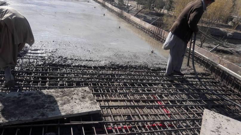 سلپی آر سی سی پل کی تعمیر کا پچاسی فیصد کام مکمل ہوگیا