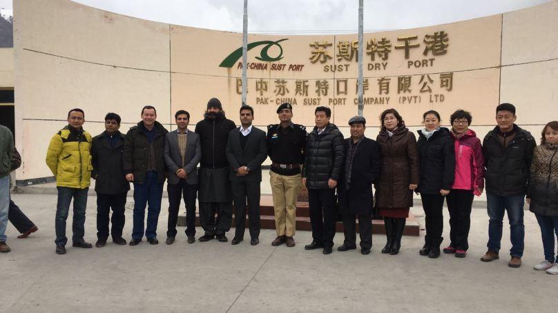 چین کے صوبہ سینکیانگ سے مختلف محکموں کے نمائندوں کے وفود ہنزہ پہنچ گئے