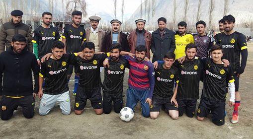 اشکومن الیون جشن آزادی گلگت بلتستان فٹبال ٹورنامنٹ کا چیمپئین بن گیا