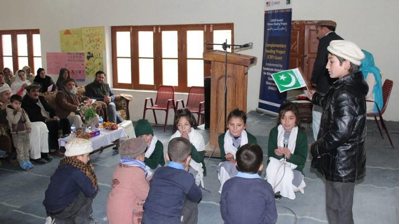 اشکومن، پاکستان ریڈنگ پراجیکٹ کا ایک سالہ پروگرام اختتام پزیر ہوگیا